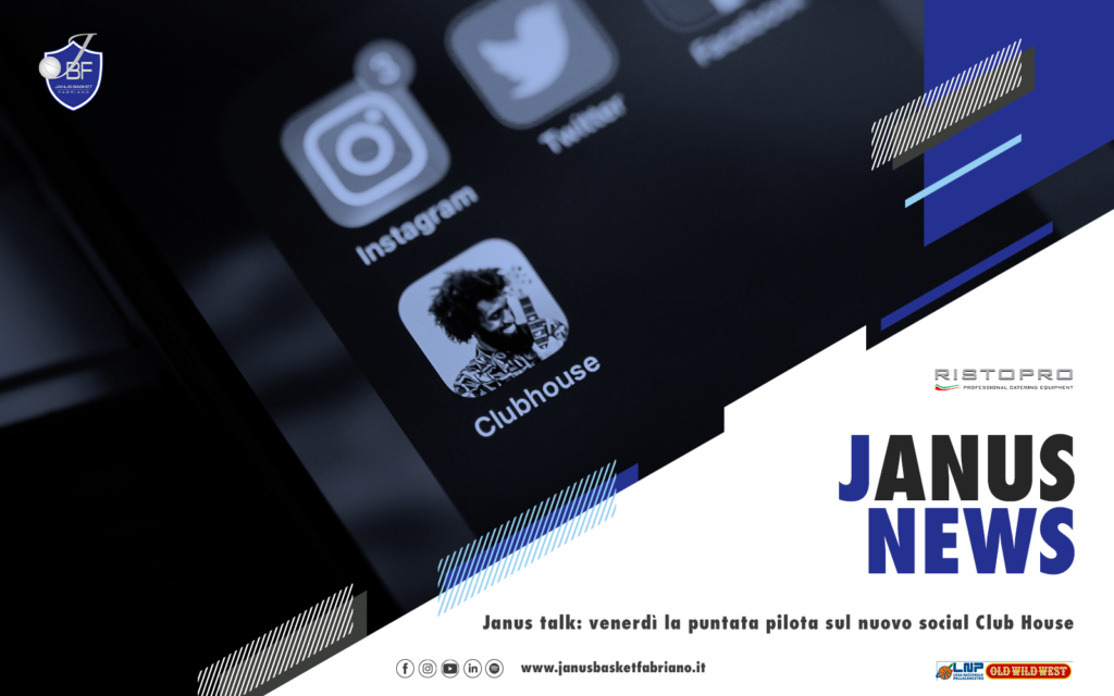 Janus talk: venerdì la puntata pilota sul nuovo social Club House